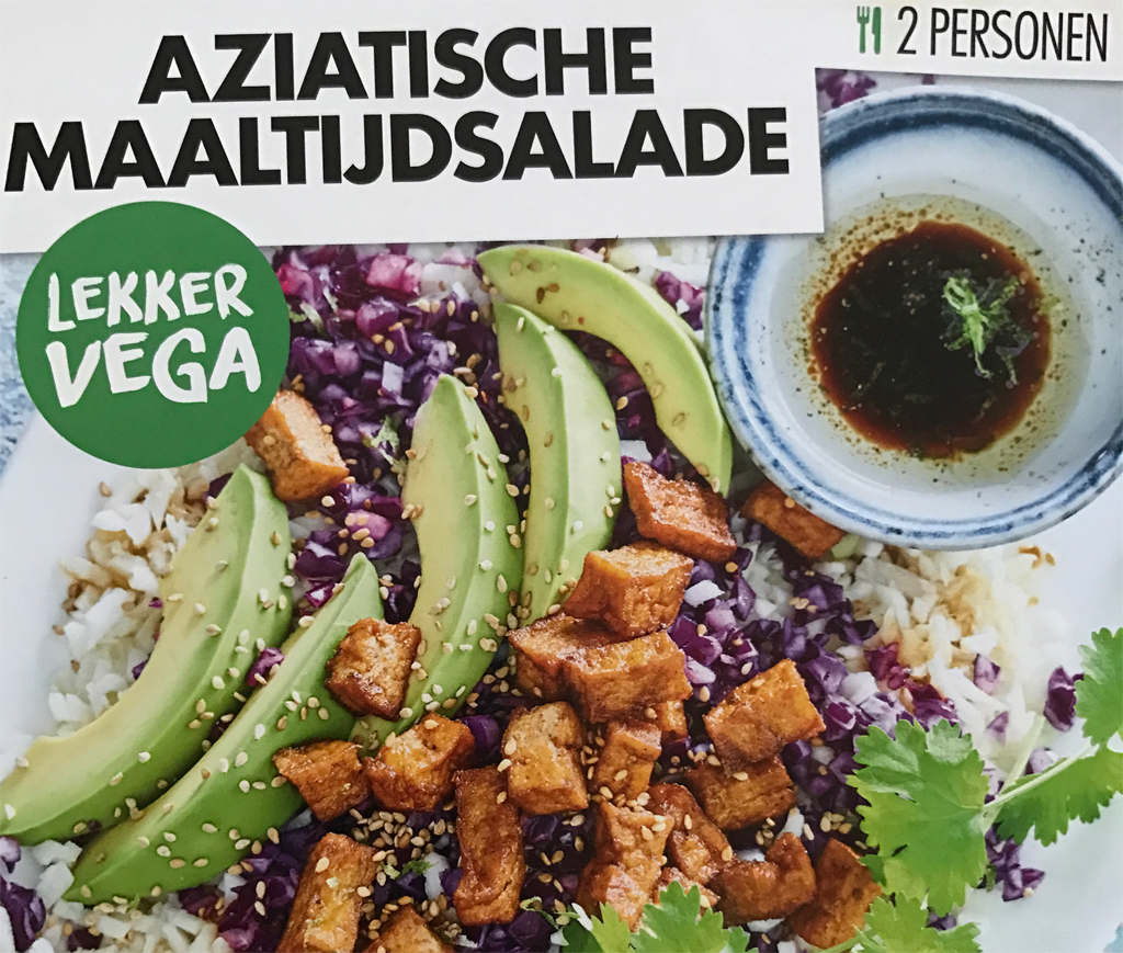 what I eat in a day recept aziatische maaltijdsalade