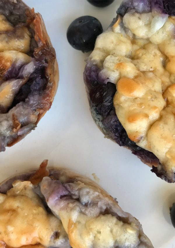 Recept blauwe bessen muffins & review Vifit Sport