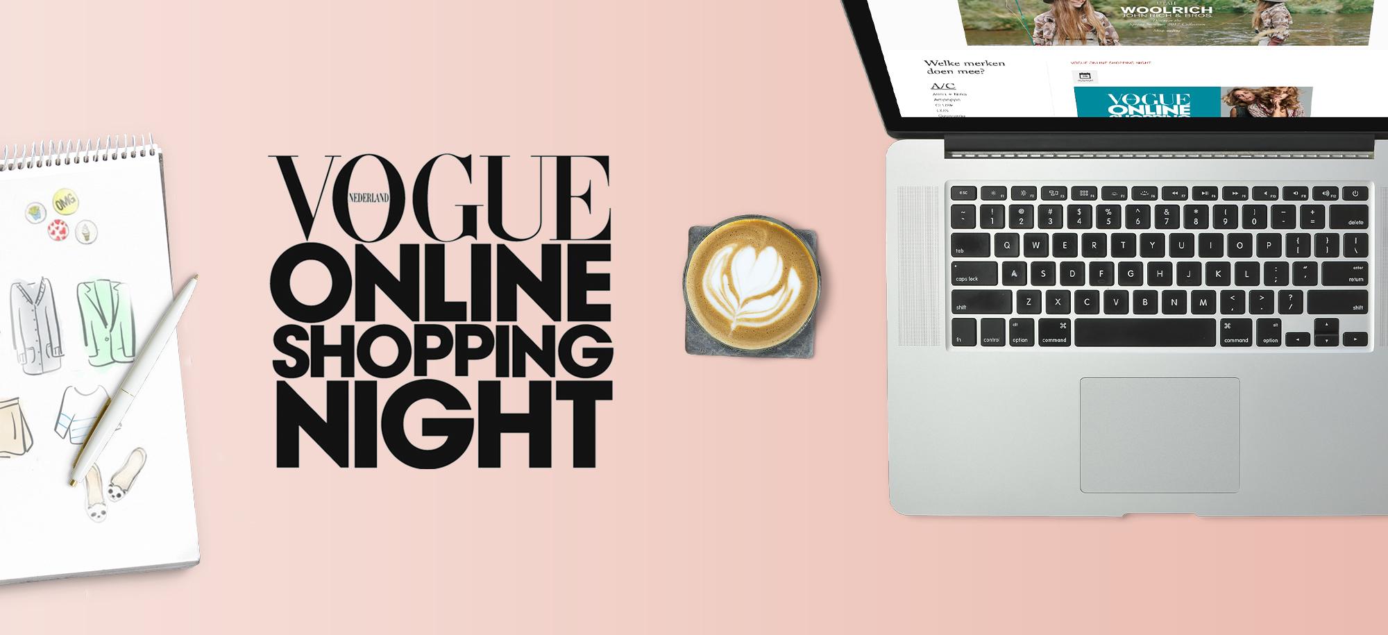 Vogue Online Shopping Night