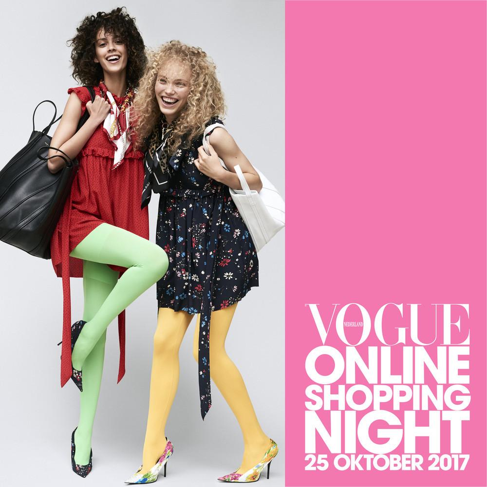 vogue online shopping night oktober