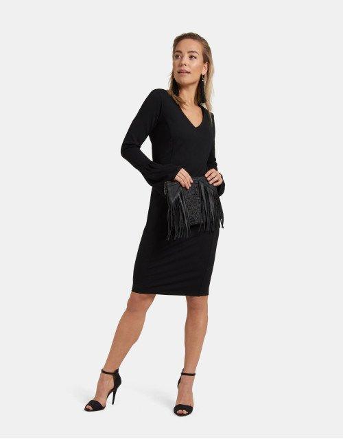 fred van leer x shoeby little black dress