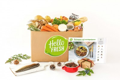 kerstbox hellofresh