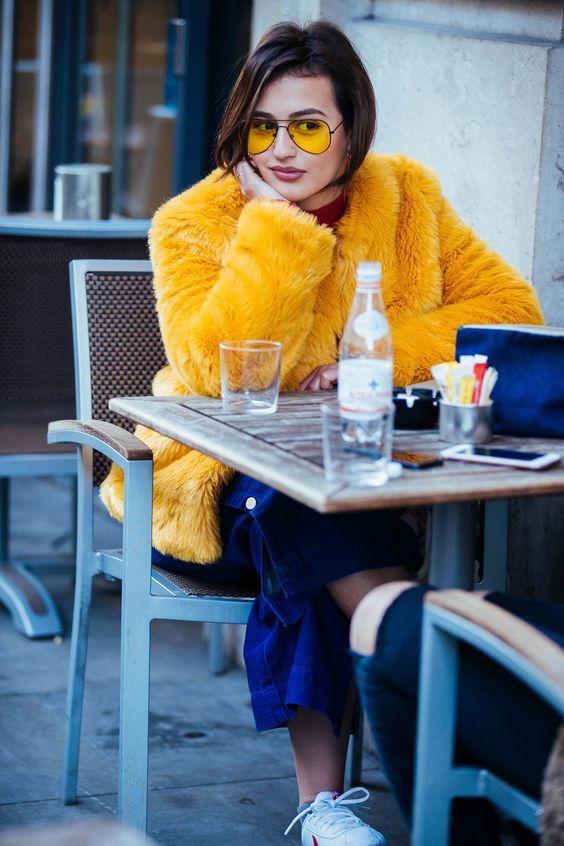 yellow fever fashion winterjas