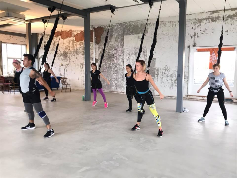 bungee super fly workout