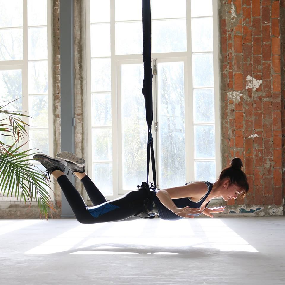 Bungee Super Fly: workout met hoge fun-factor