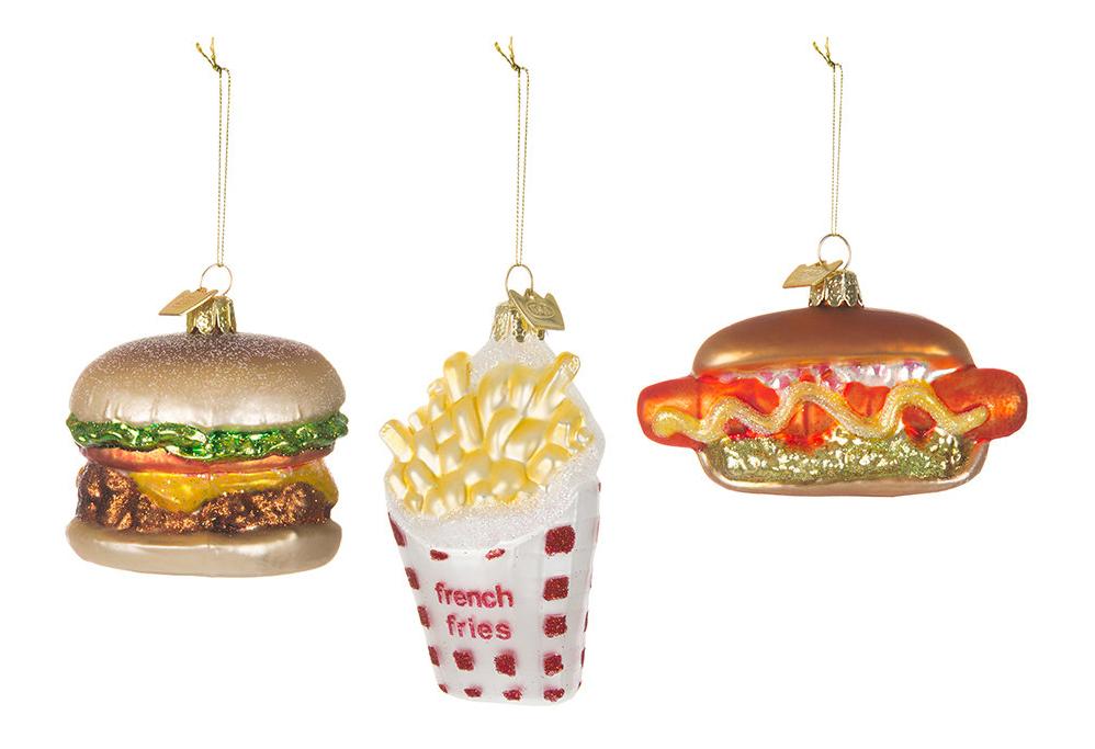 originele kerstballen fast food