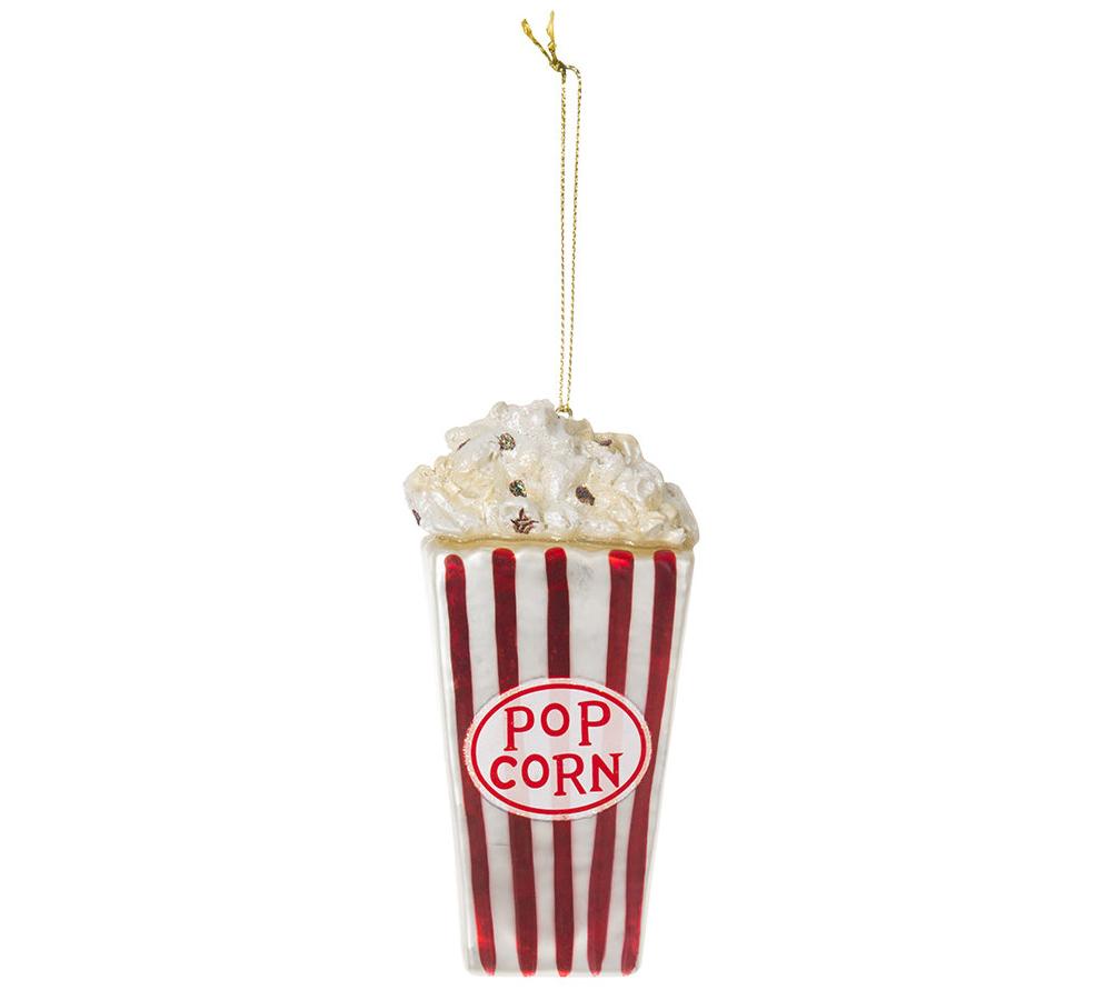 originele kerstballen popcorn