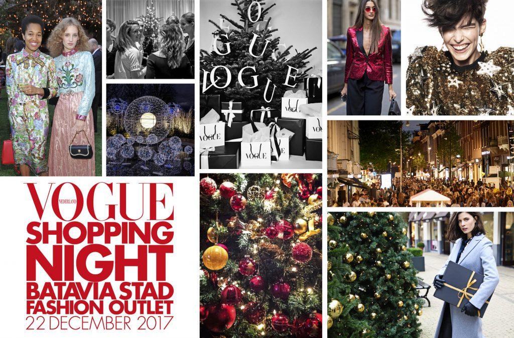 vogue christmas shopping night