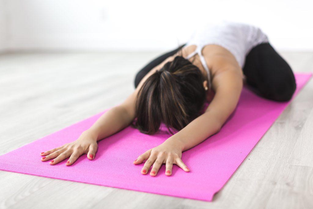 workout voor thuis stretchen