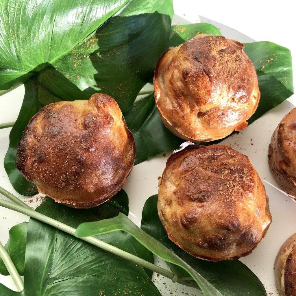 gezond aankomen muffins
