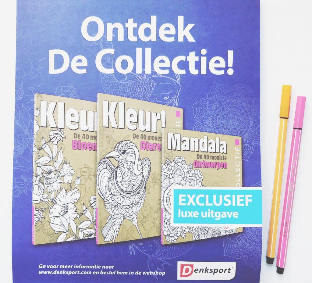 kleurboek voor volwassenen denksport