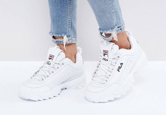 dad sneakers fila