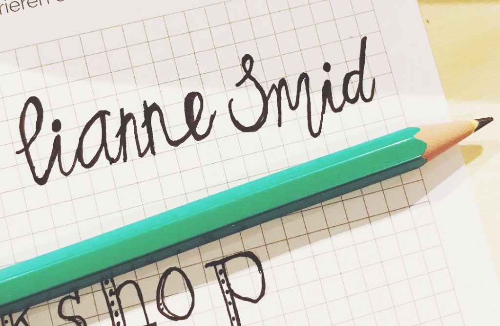 hand lettering hobby
