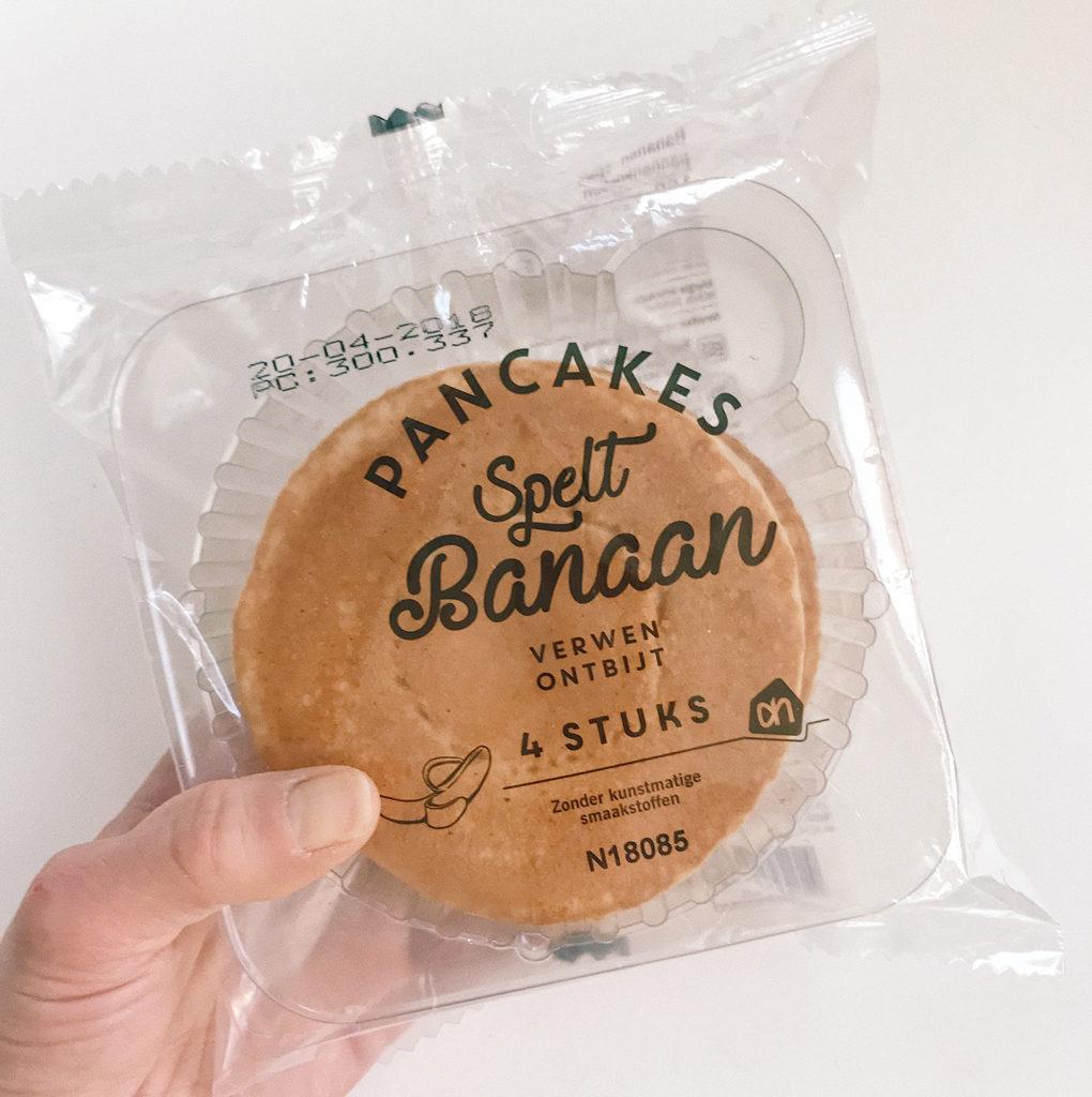 kant-en-klare producten banana pancakes