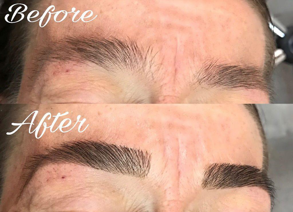 brow bar eye brows