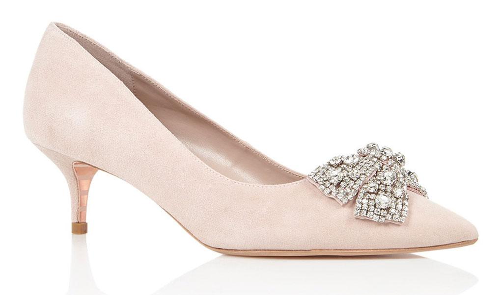 kitten heels roze