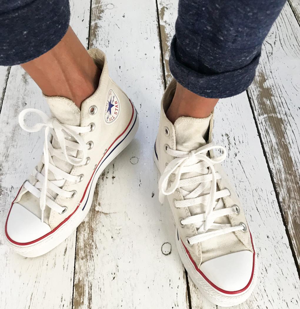 DIY: (witte) Converse All Stars schoonmaken | llianne.com ...