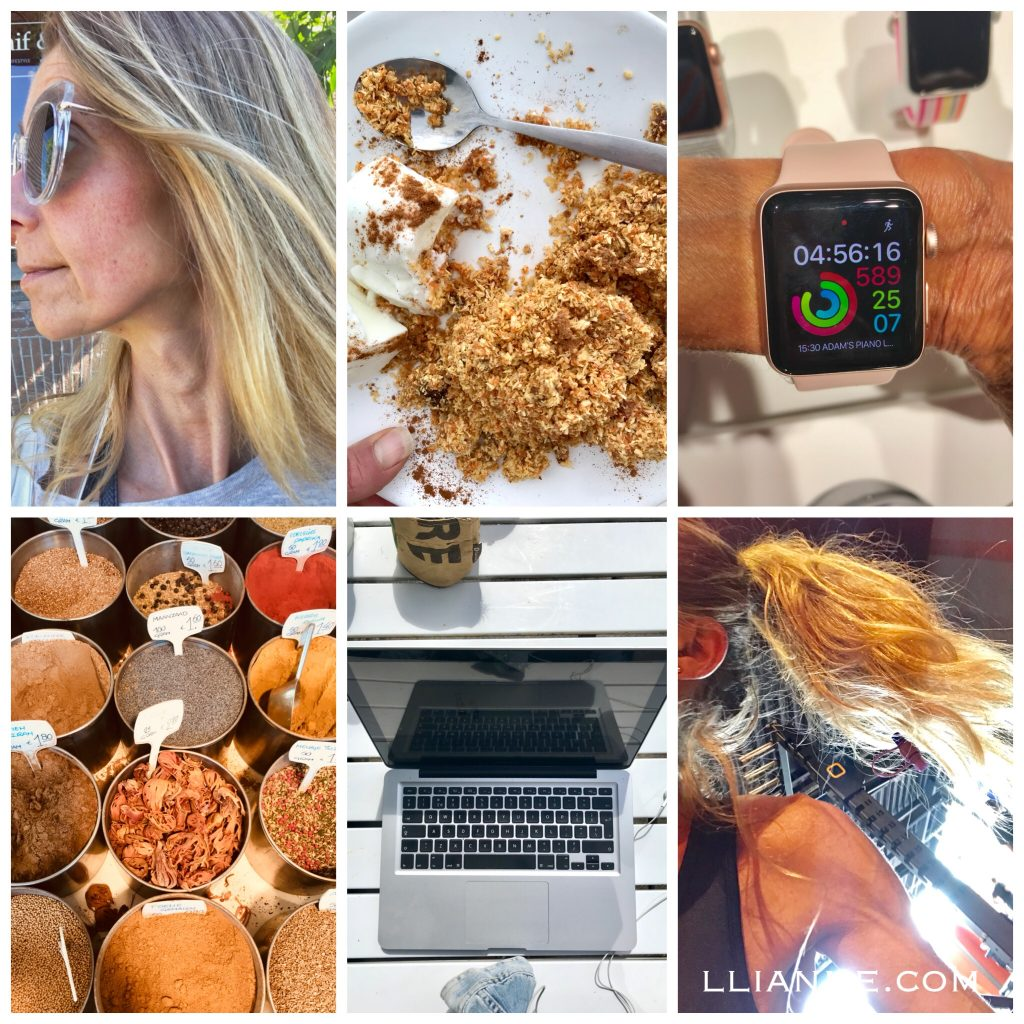 my week in pictures collage