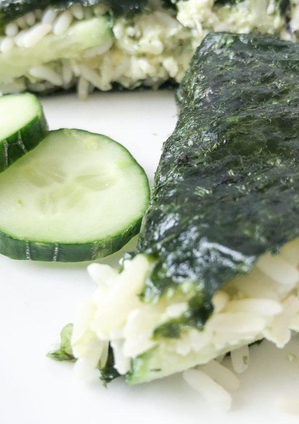Recept sushi sandwich