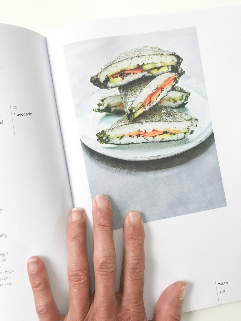 sushi sandwich onigirazu