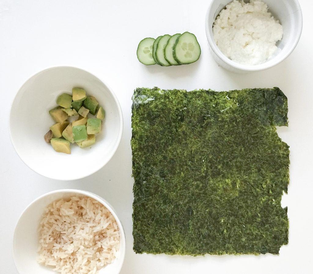 sushi sandwich recept