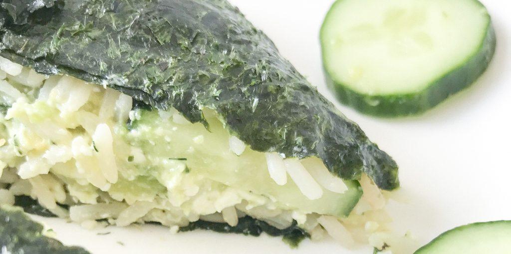 sushi sandwich vegan