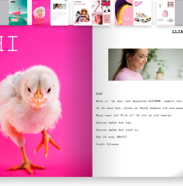 DIY: een glossy magazine maken