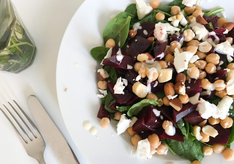 salade met rode biet