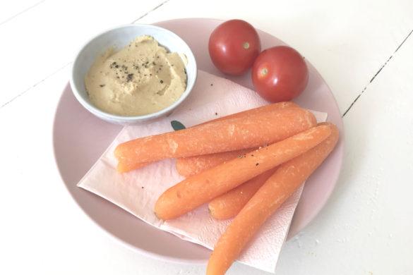 hummus met yoghurt