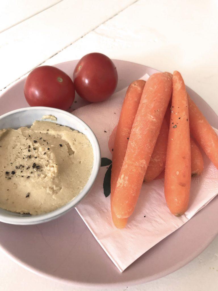 hummus met yoghurt recept