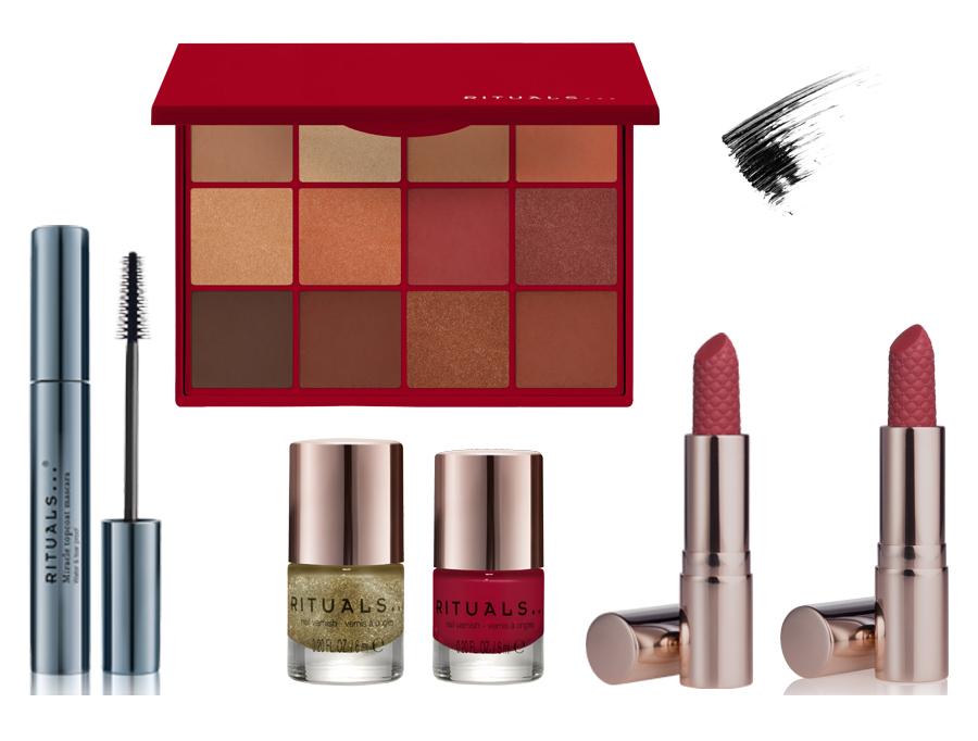 feestelijke make-up look